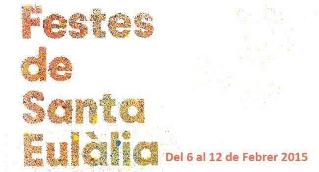 Cartell Festes Santa Eulàlia 2015